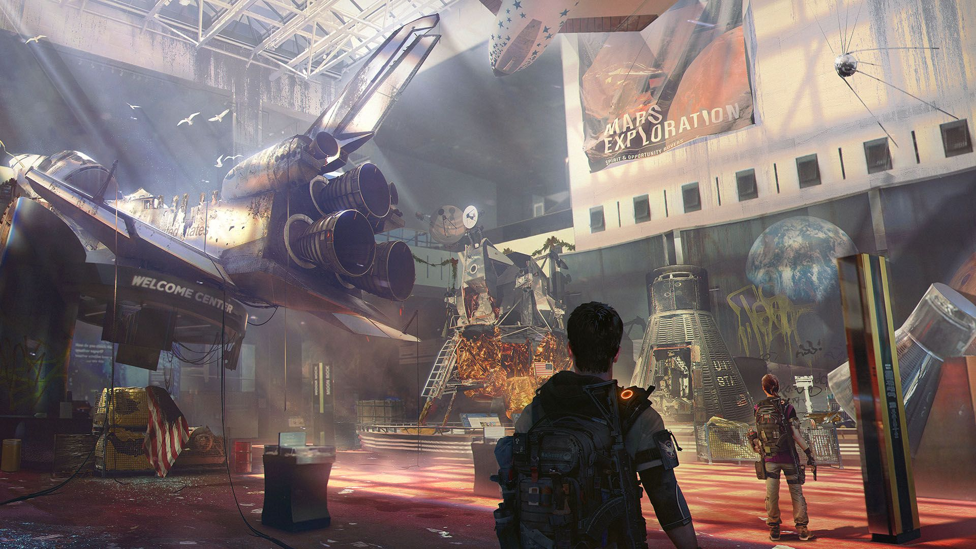 《全境封锁2》最新宣传片展示AMD显卡特有效果