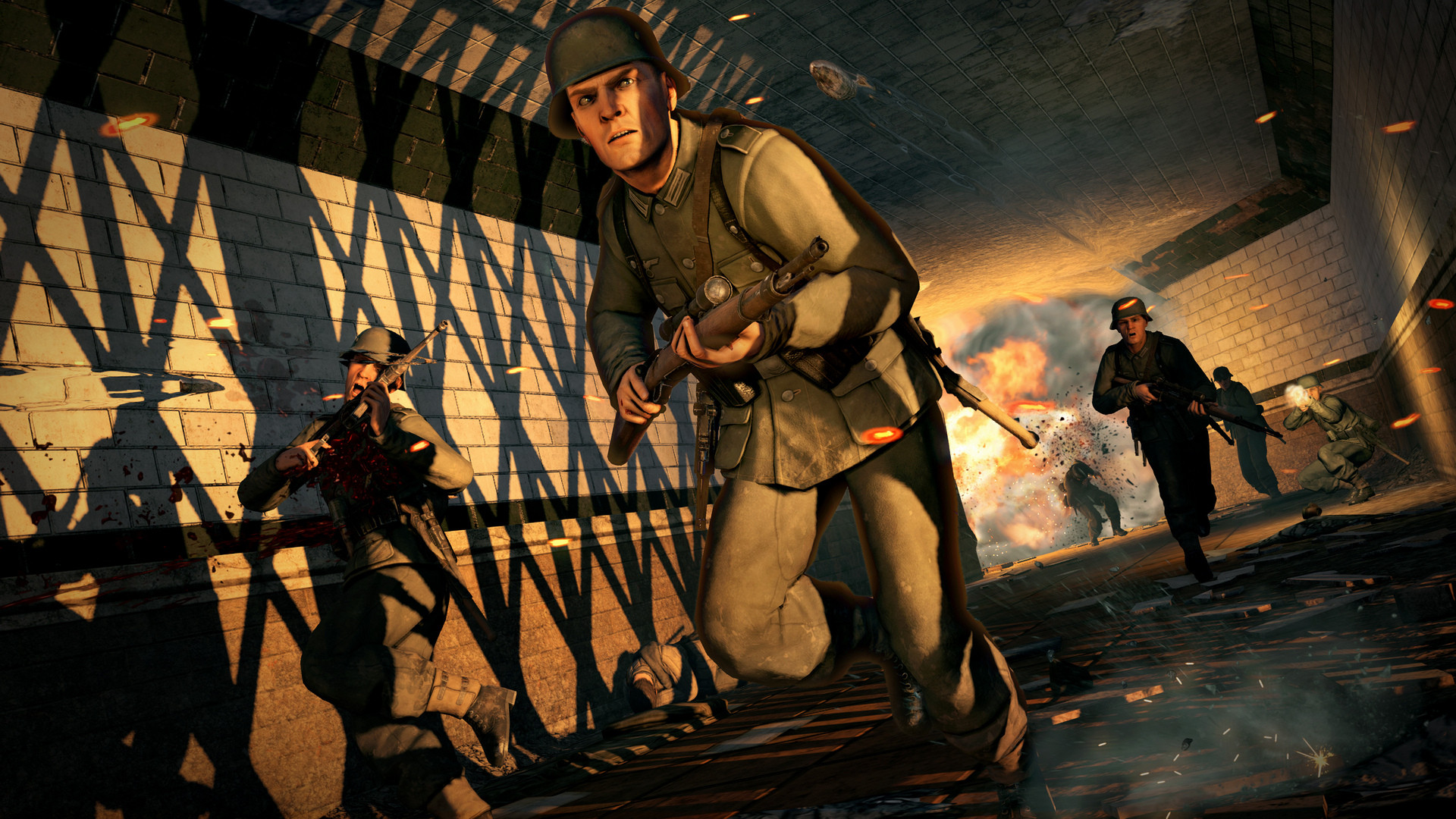 《狙击精英V2重制版》首批截图公布 画质提升不少