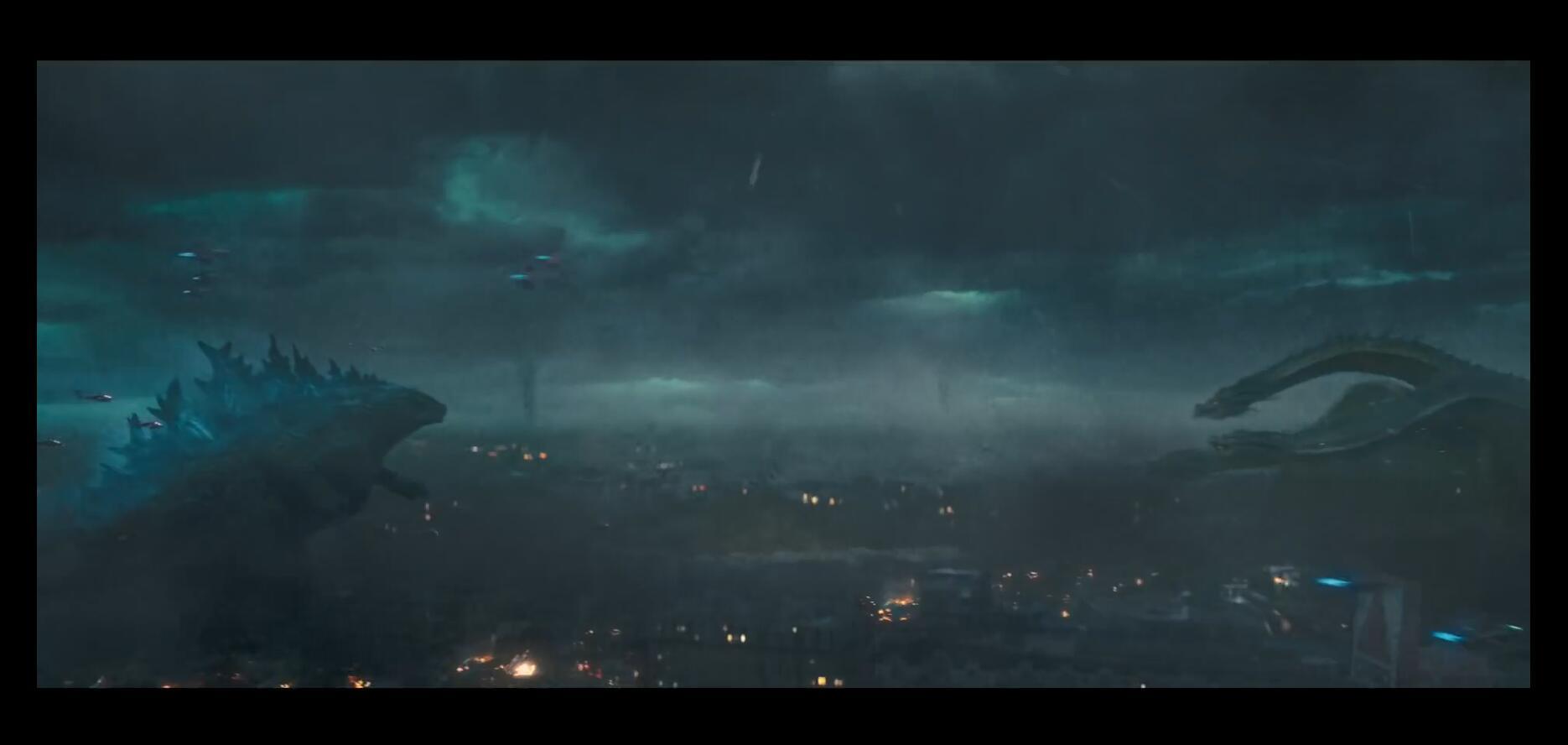 《哥斯拉2》第三支电视预告 霸主争夺殃及海陆空