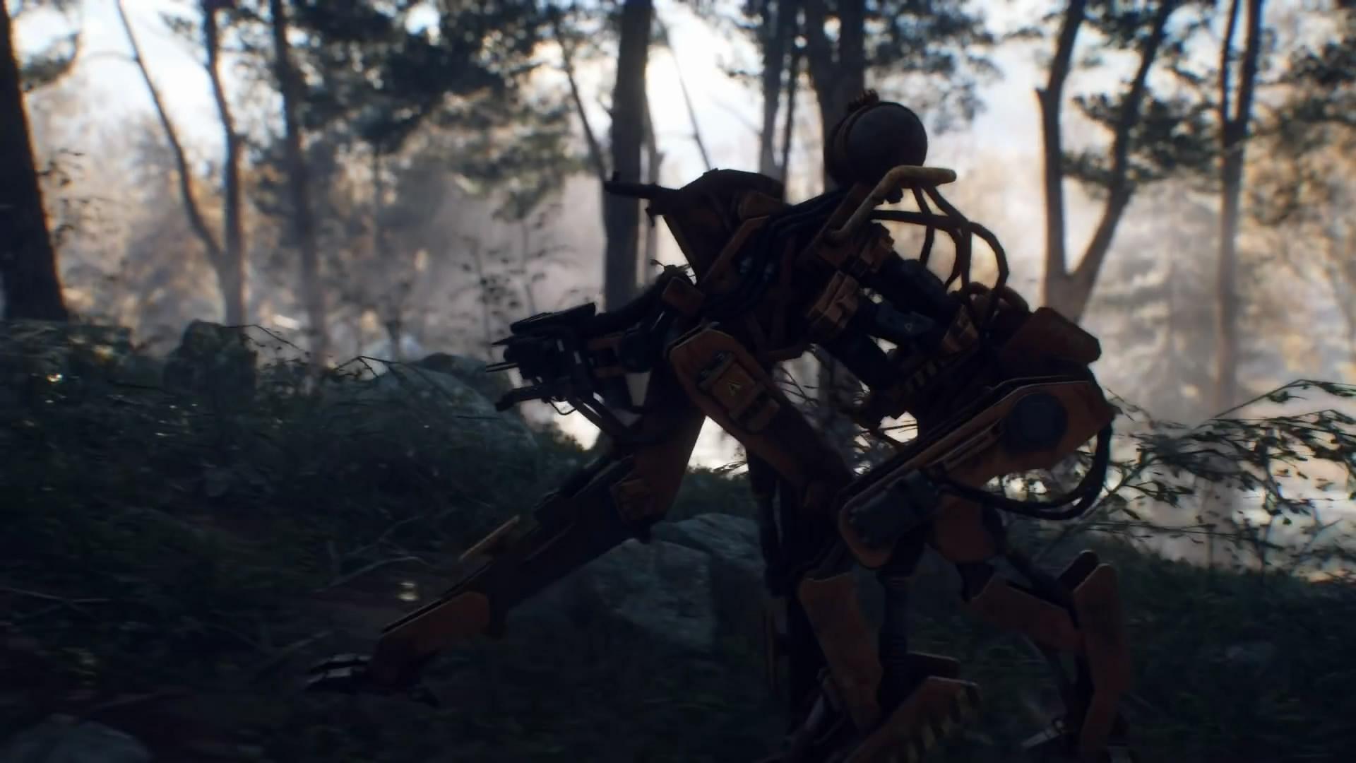 对抗机器大军!科幻惊悚FPS《零世代》新演示视频