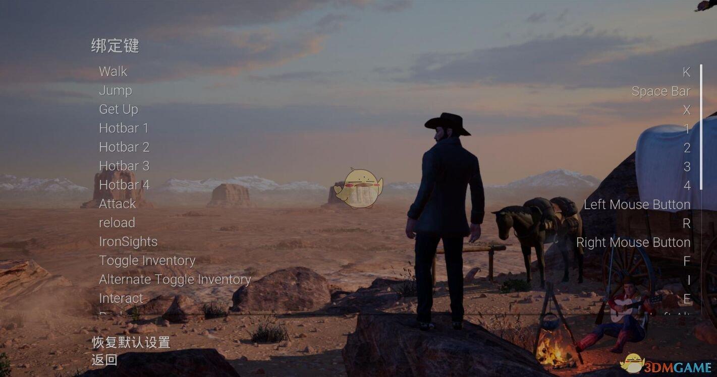 《西部狂徒》按键操作介绍