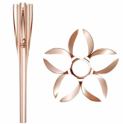 东京2020奥运会火炬正式公布 外形酷似日本国花樱花