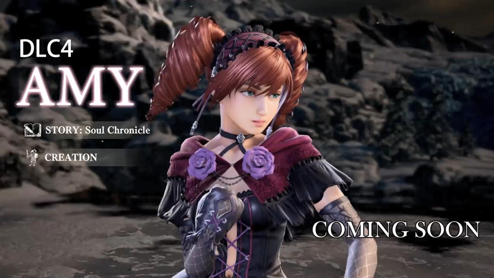 暗黑少女她来了 《灵魂能力6》新角色艾米将于3月25日登陆