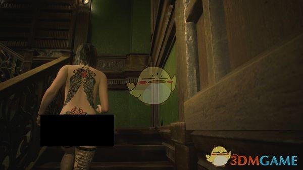 《生化危机2:重制版》散发性感纹身克莱尔MOD