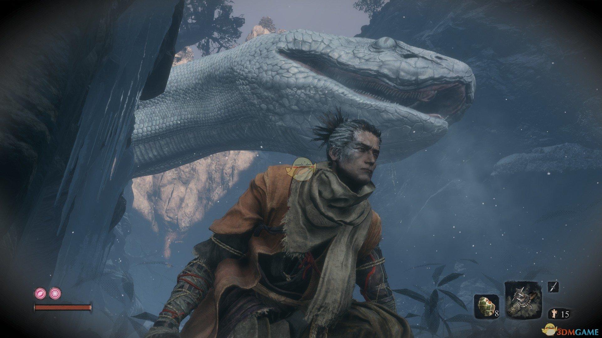 《只狼:影逝二度》白蛇击杀方法分享