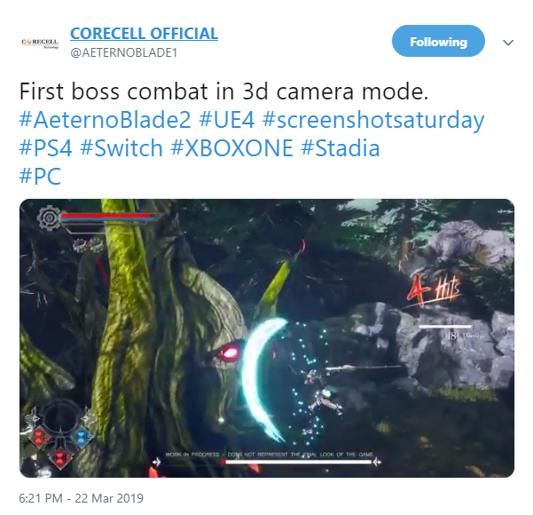 ARPG《阿泰诺之刃2》 3D战斗演示视频放出