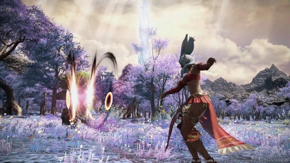 游戏新消息:最终幻想14新职业舞者公布艾欧泽亚歌舞团成立