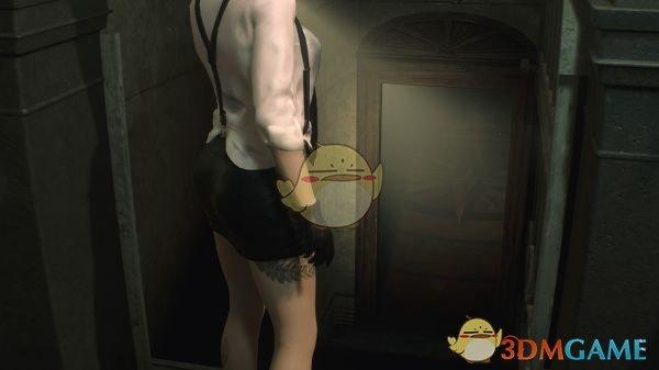 《生化危机2:重制版》衣衫不整的纯黑服克莱尔MOD