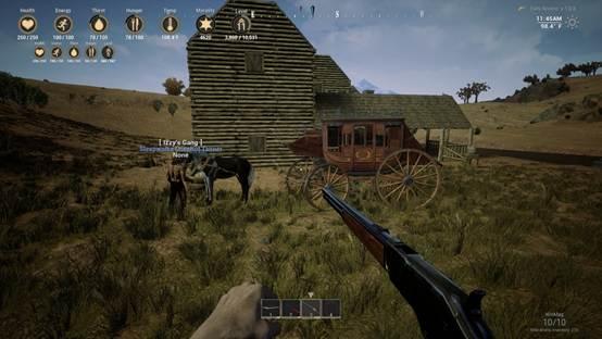 冒险沙盒游戏《西部狂徒》太过无法无天,游戏加入道德体系