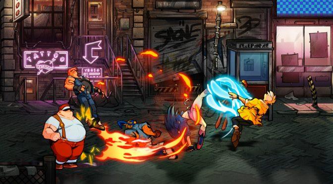 经典重现 横版新作《怒之铁拳4》首部实机视频公布