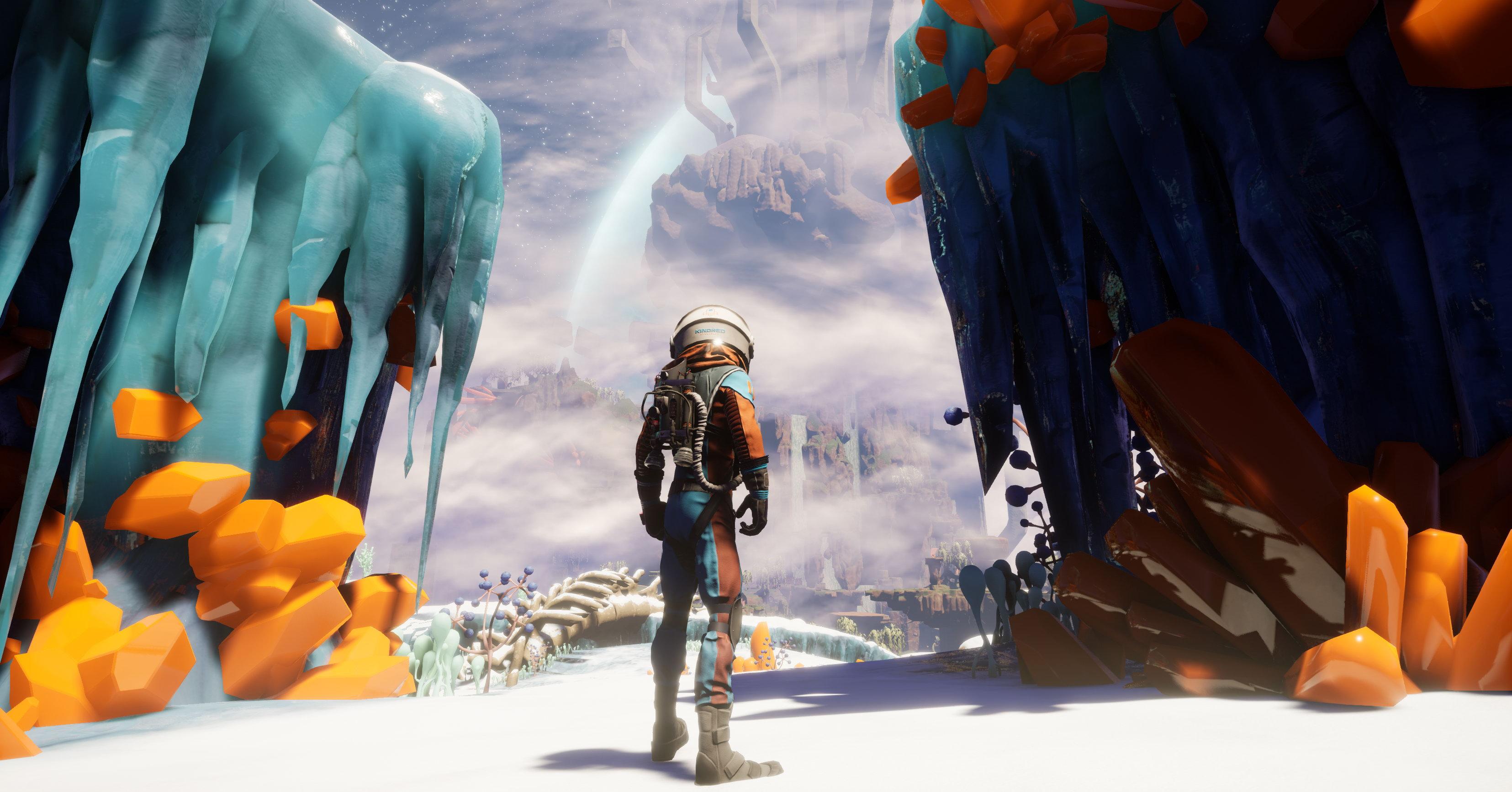 科幻游戏《野蛮星球之旅》新预告 生机勃勃的开放世界