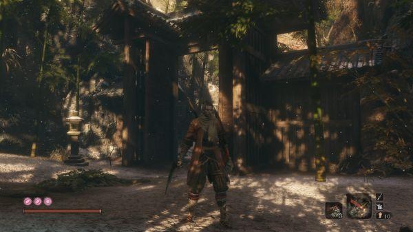 《只狼:影逝二度》黑暗之魂3武器替换包MOD