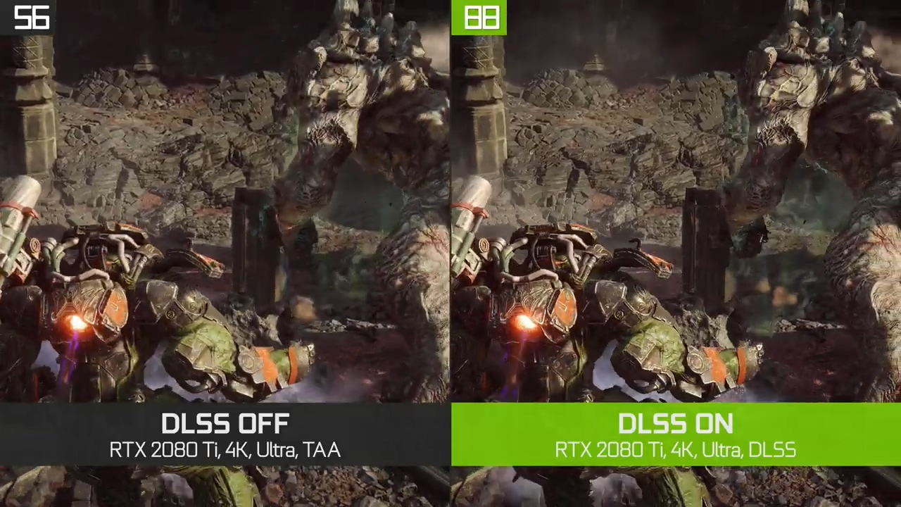 NVIDIA:《圣歌》开启DLSS后 性能最高提升40%