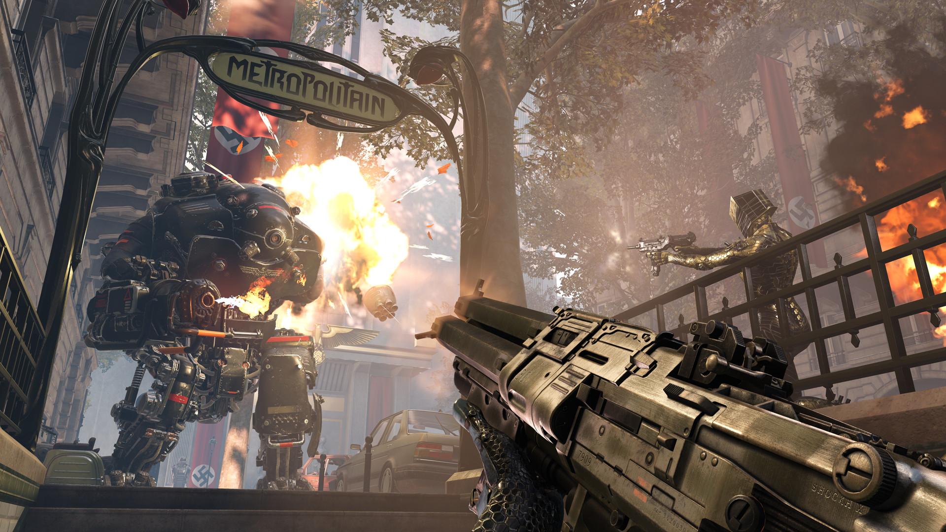 《德军总部:新血液》Steam国区99元 支持简中、首批截图发布