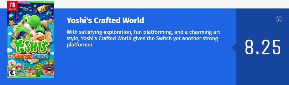 绝对愉悦的游戏探索!《耀西的手工世界》IGN 7.8分