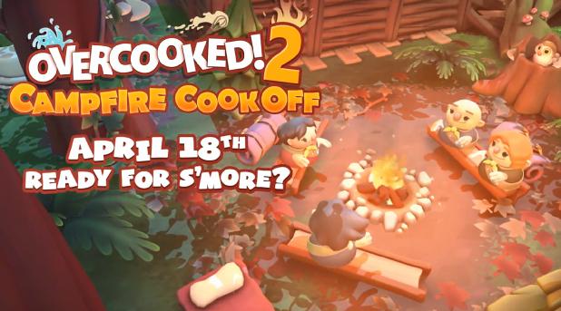 """再度分手预定 《胡闹厨房2》DLC""""Campfire Cook Off""""公布"""