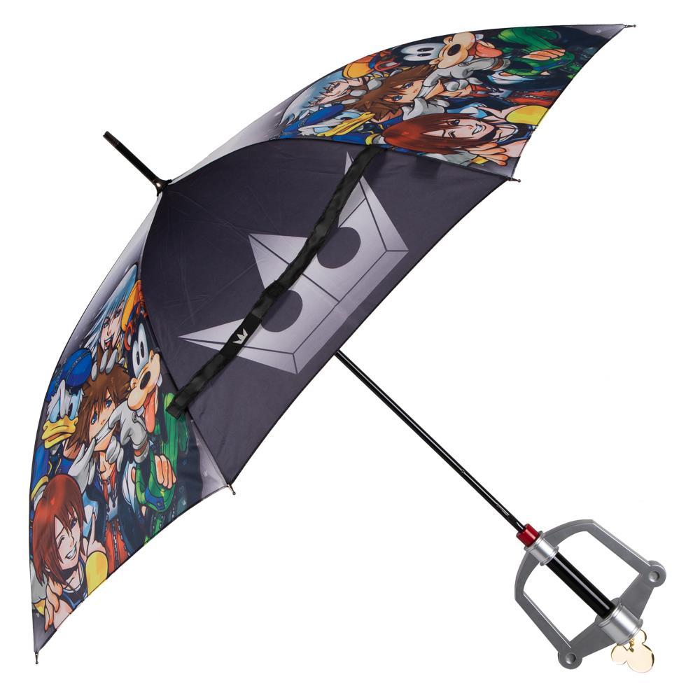 《王国之心》官方键刃雨伞 造型拉风还实用