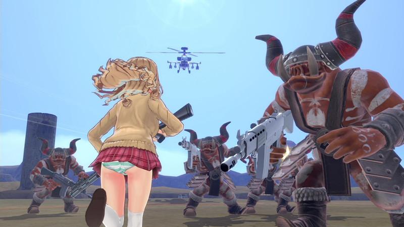 美少女军事动作射击游戏《子弹少女 幻想曲》PS4PS Vita中文盒装版价格调整