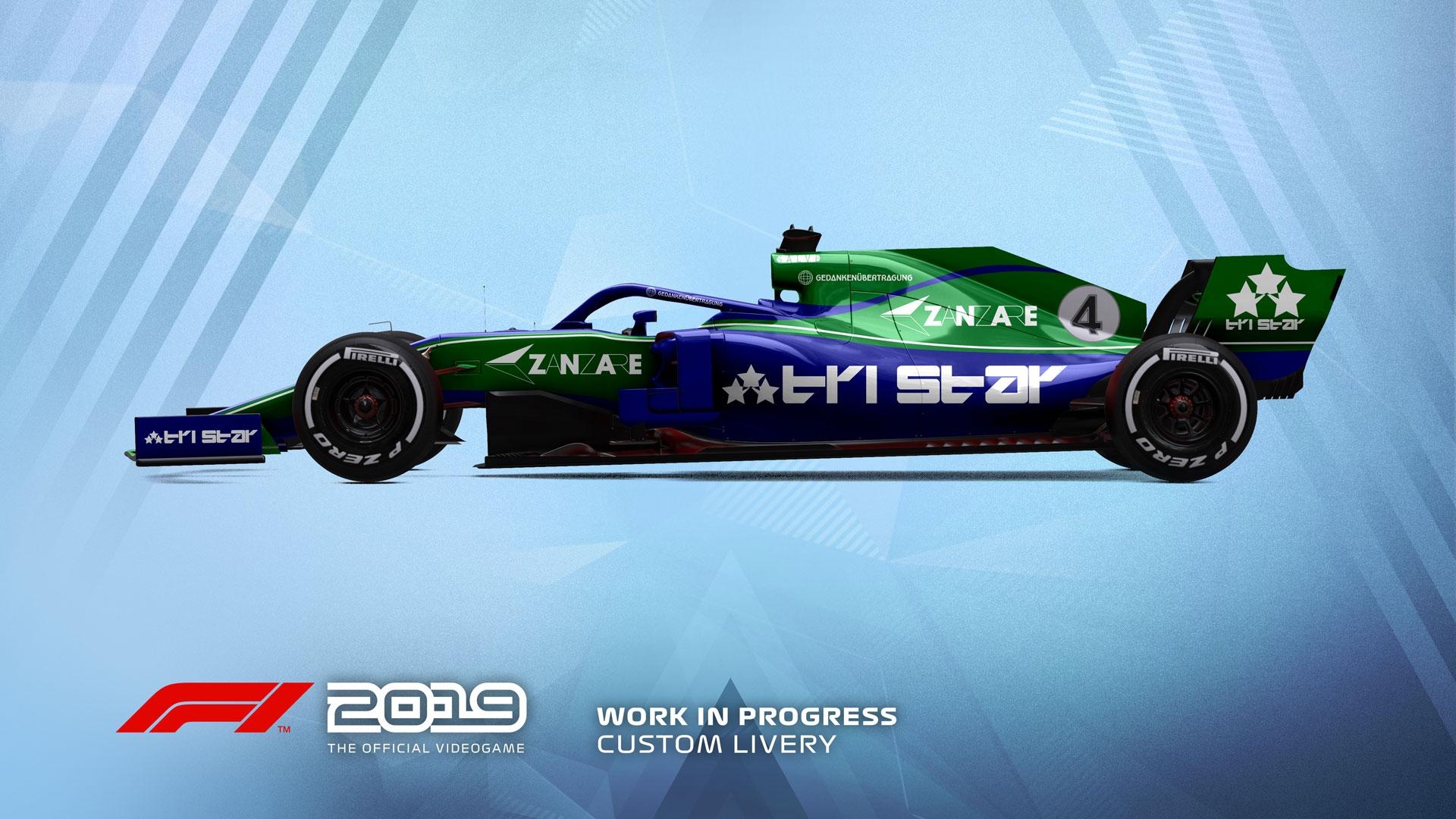 官方授权《F1 2019》将于6月28日登陆PC及家用机