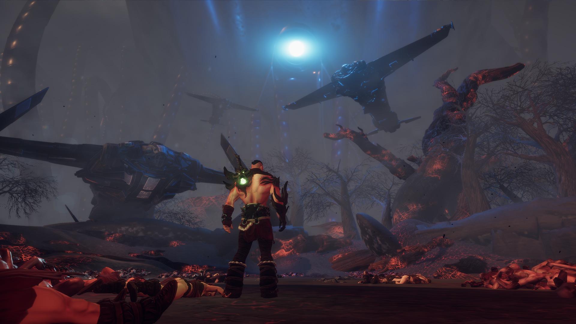动作游戏《狂战士》预告 胸猛战士暴力杀戮内脏满天飞