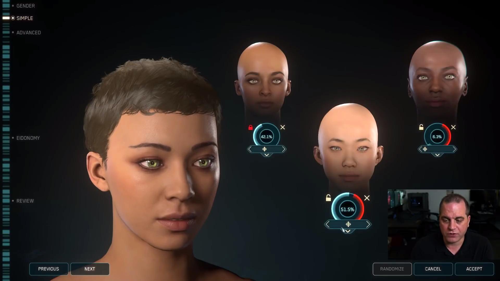《星际公民》新增女性可玩角色 捏脸功能超精细