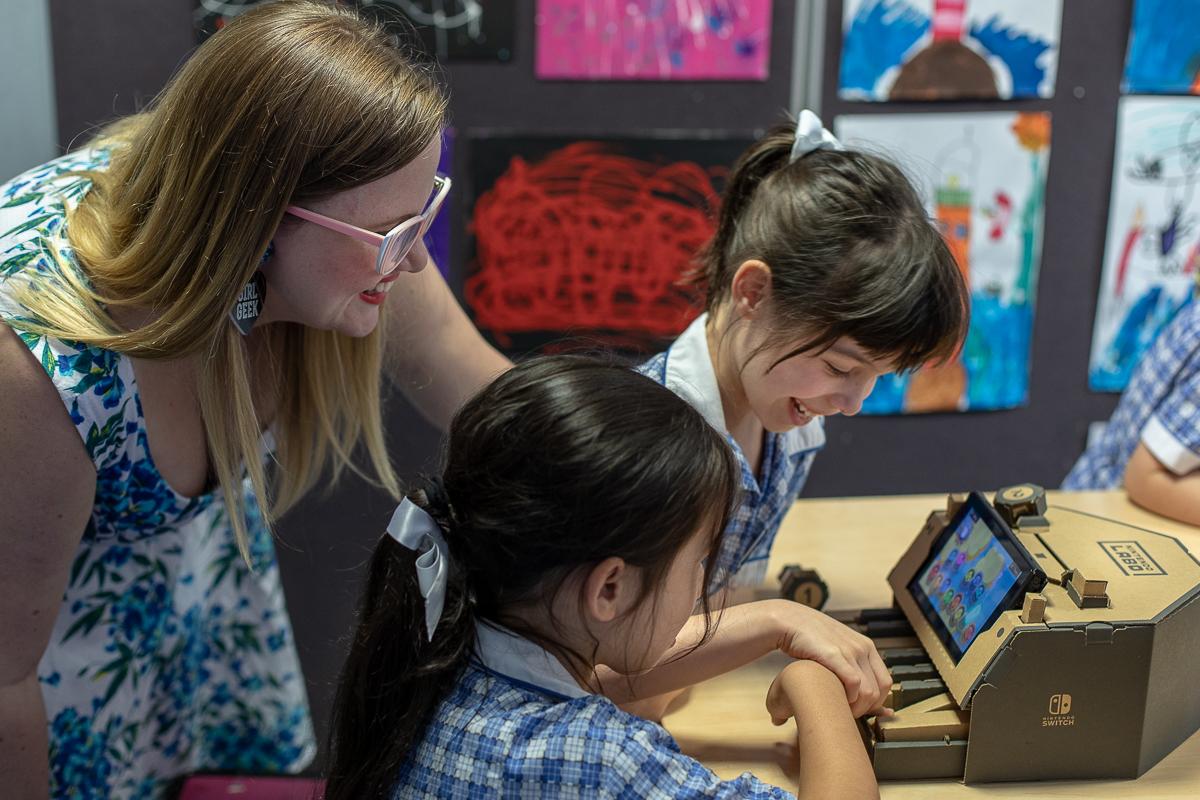 任天堂与澳大利亚女子极客学院合作 让Labo走进课堂