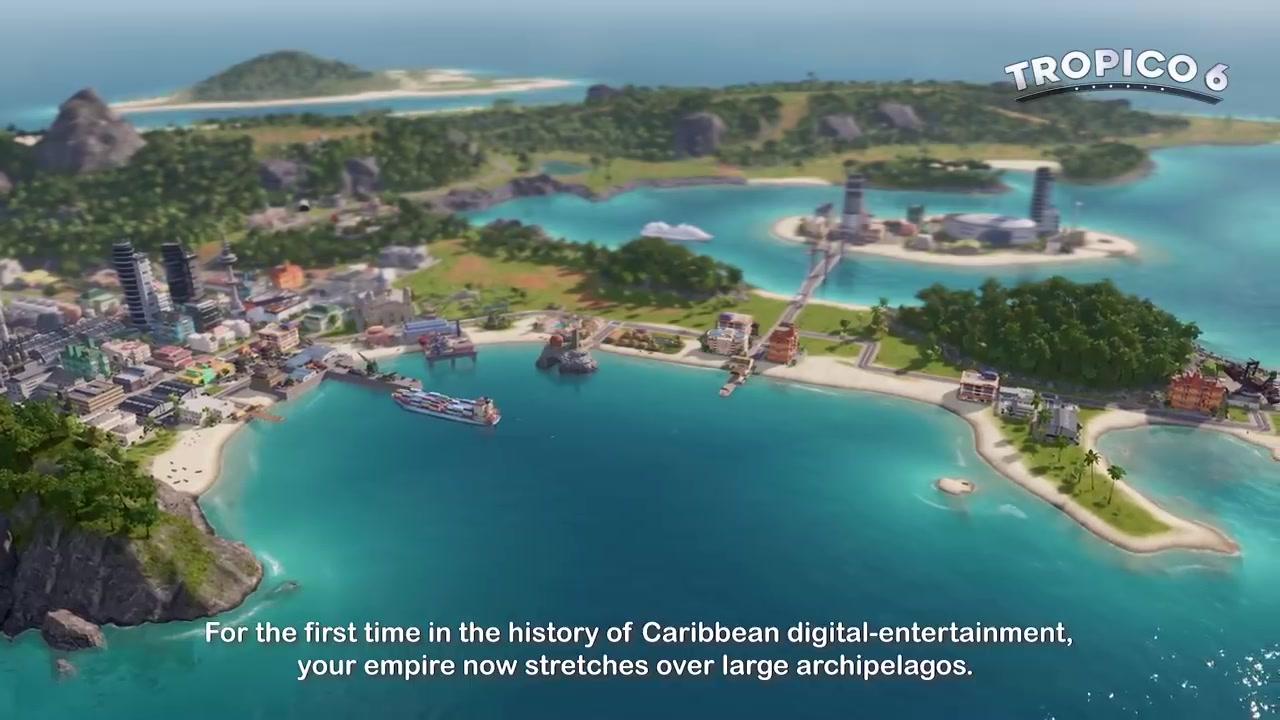 掌控大局 《海岛父亲亨6》PC版上市宣传片展即兴
