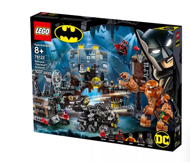 庆祝蝙蝠侠诞生80周年 乐高推出全新Batcave玩具