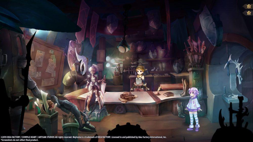 海王星RPG《勇者海王星》PC版公布 PS4版新截图展示