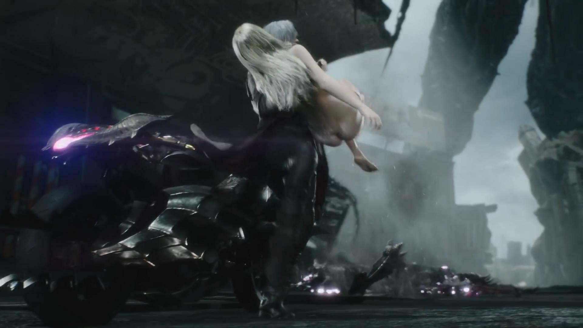《鬼泣5》迎来全新更新 PS4玩家又可以看美女裸体了