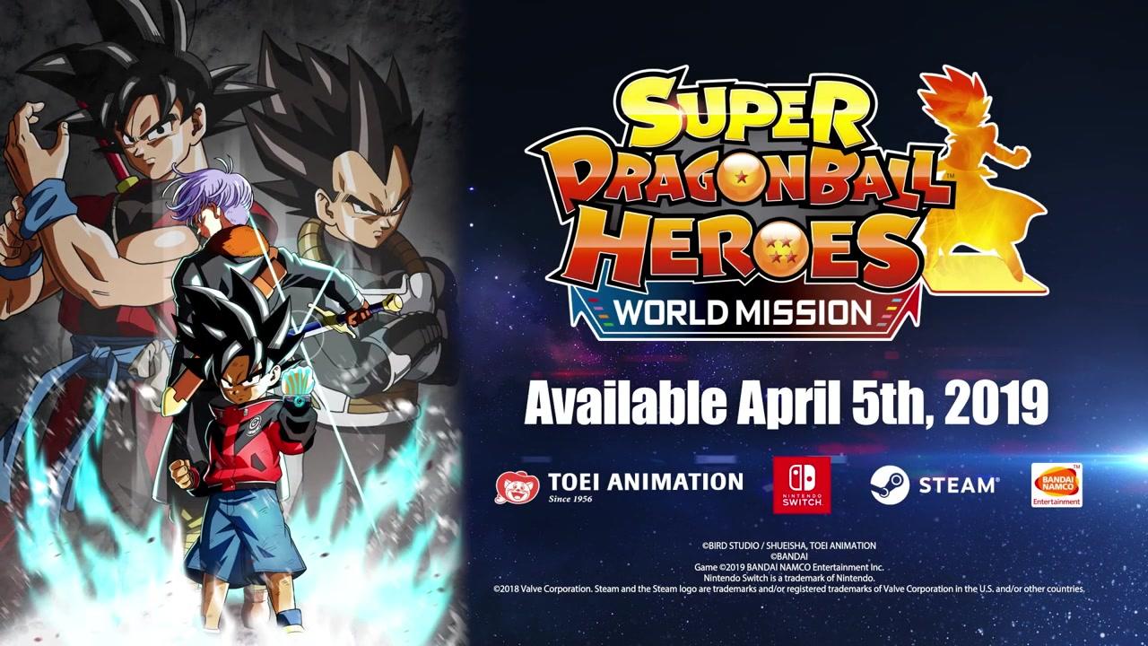 《超级龙珠英雄:世界任务》第三段特性视频展示
