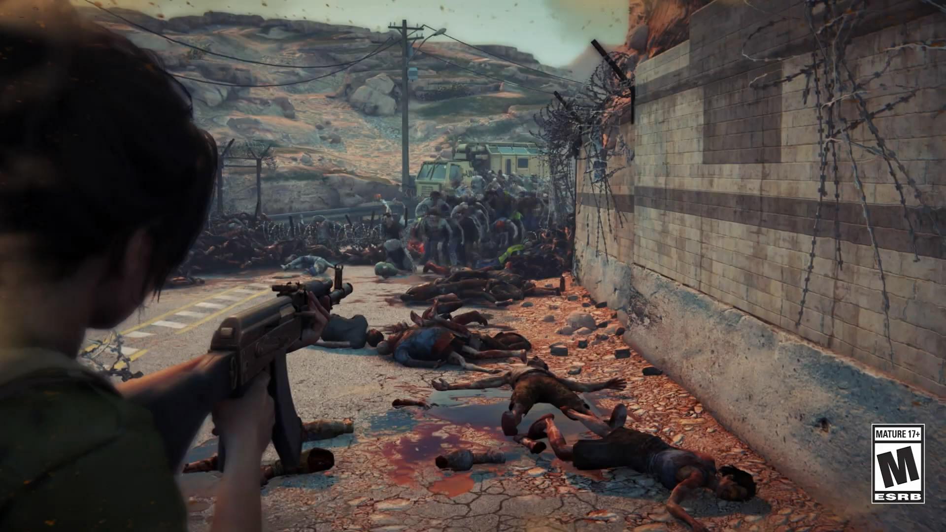 《僵尸世界大战》新预告片 恐怖尸潮袭来包围四人组
