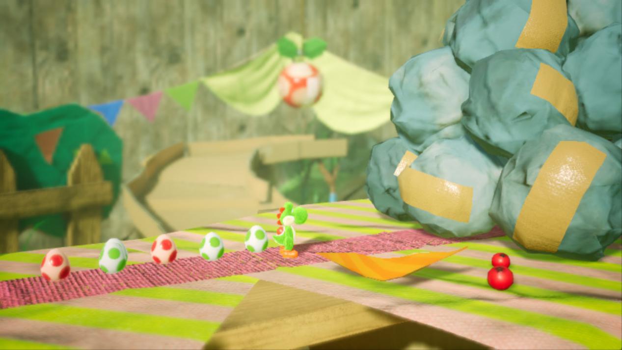 《耀西的手工世界》评测:简单有趣,也许这才是游戏的初衷