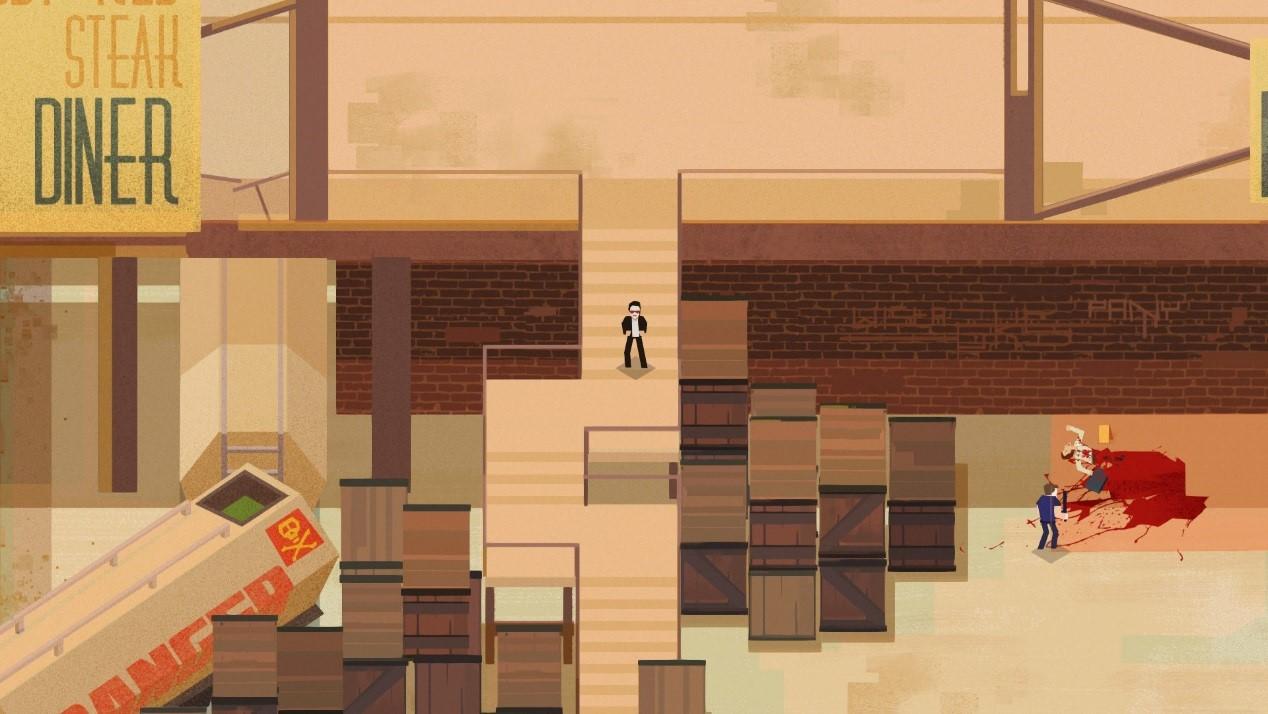 《连环清洁工》评测:一款场景精细的2D潜入式闯关游戏