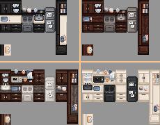 《星露谷物语》动态木质厨房MOD