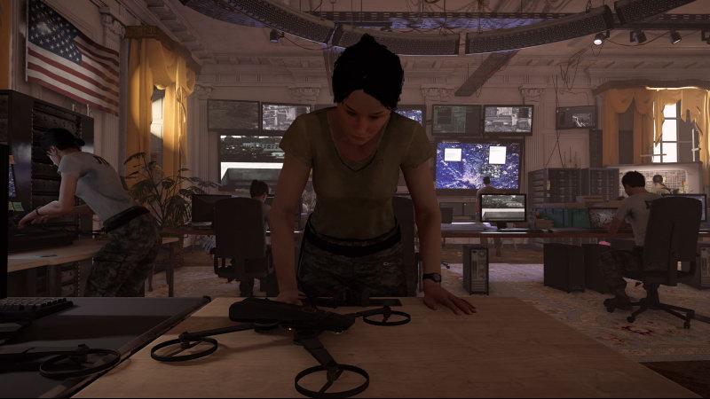 《全境封锁2》无人机控制员小姐姐太可怜 忙碌到鬼畜