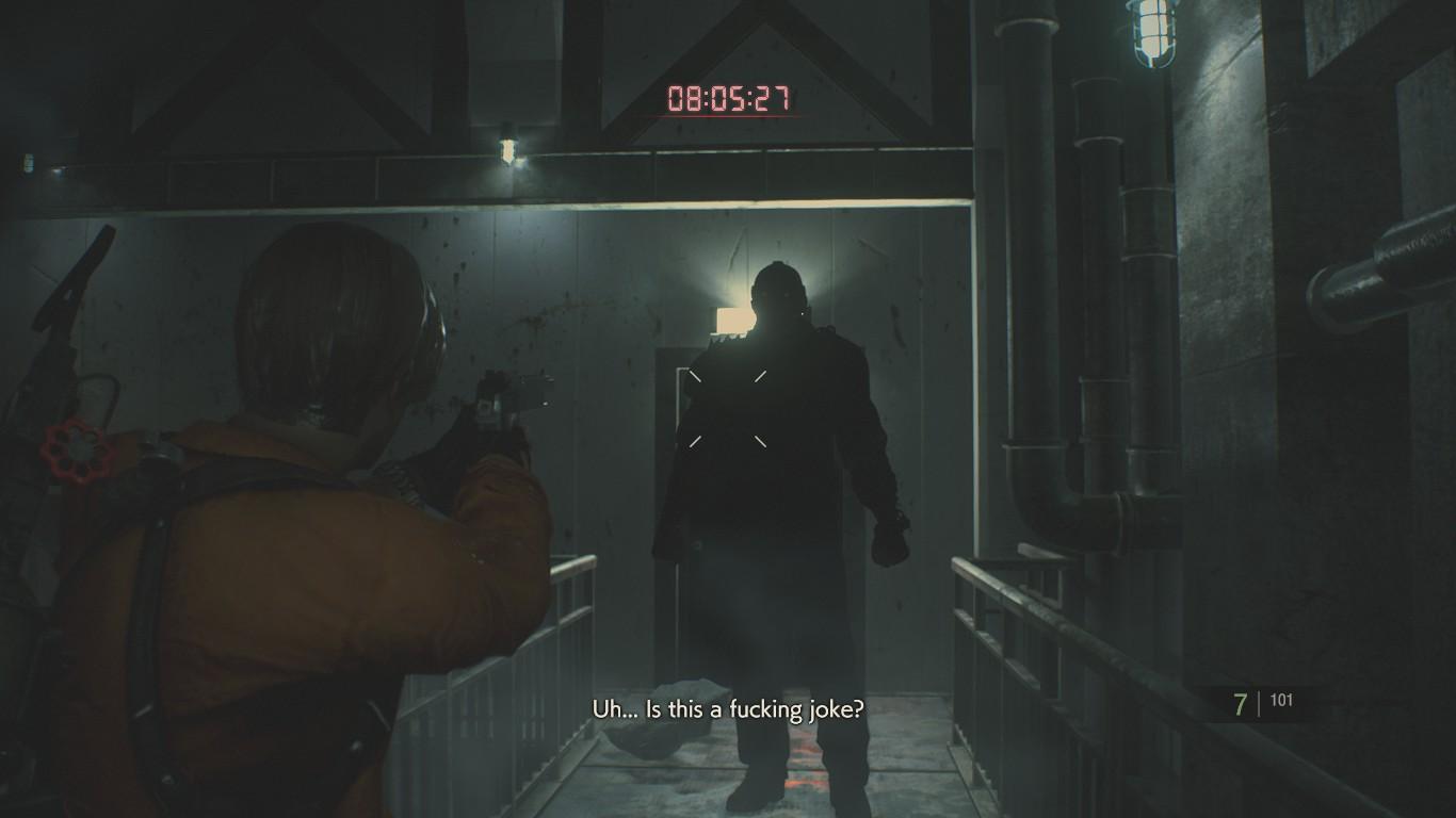《生化危机2:重制版》新Mod 杰森替换暴君游戏更恐怖