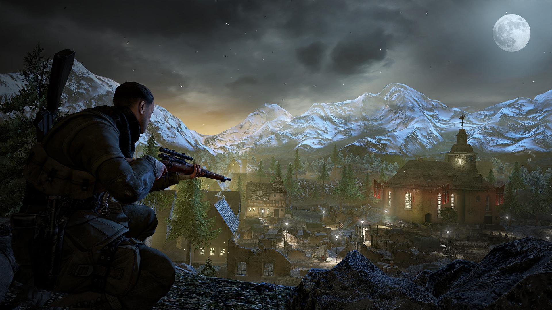《狙击精英V2重制版》Steam开启预购 原版下架绝版