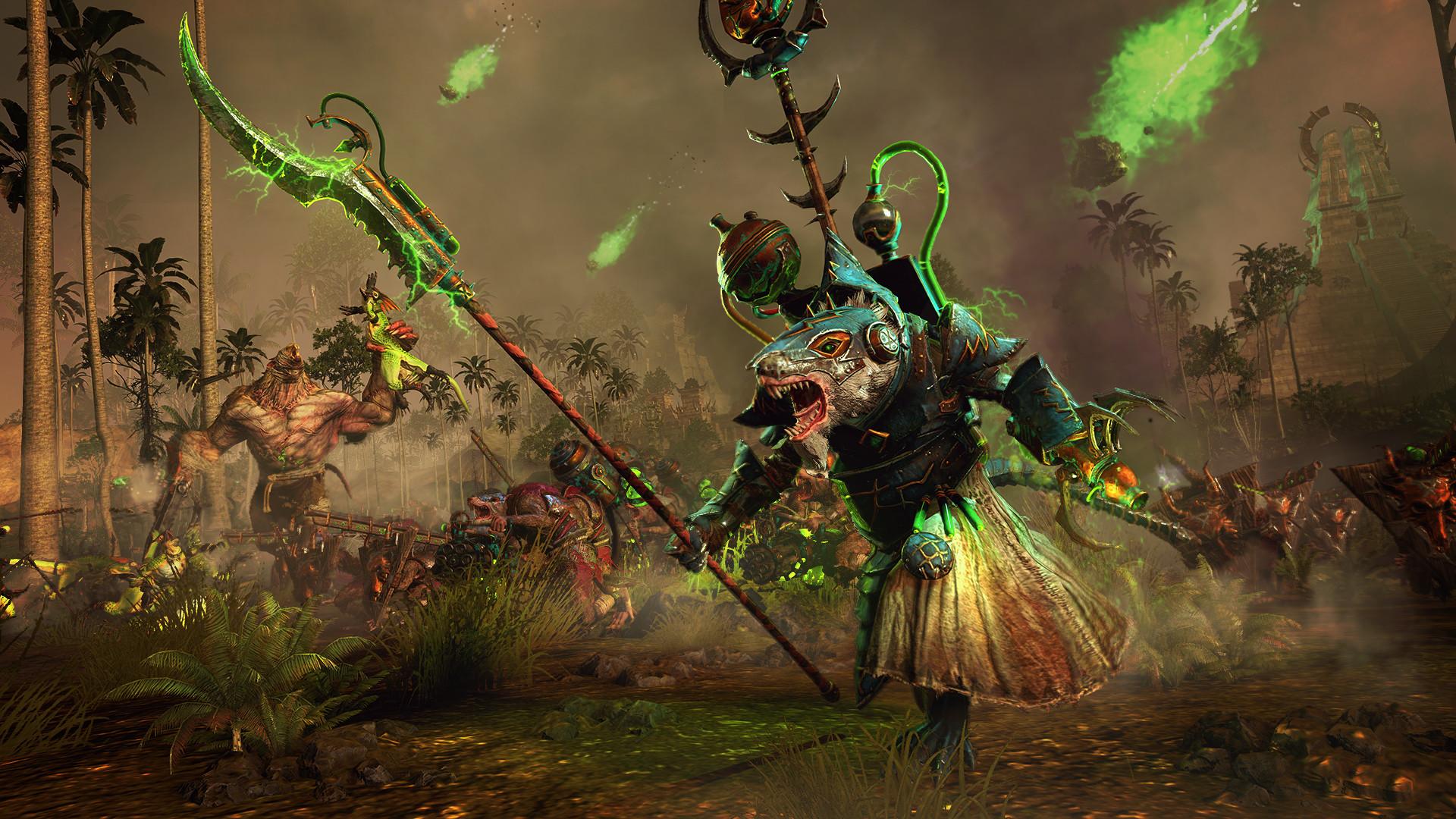 《全面战争:战锤2》 新DLC预告竟与 《铁血战士》 场景相似