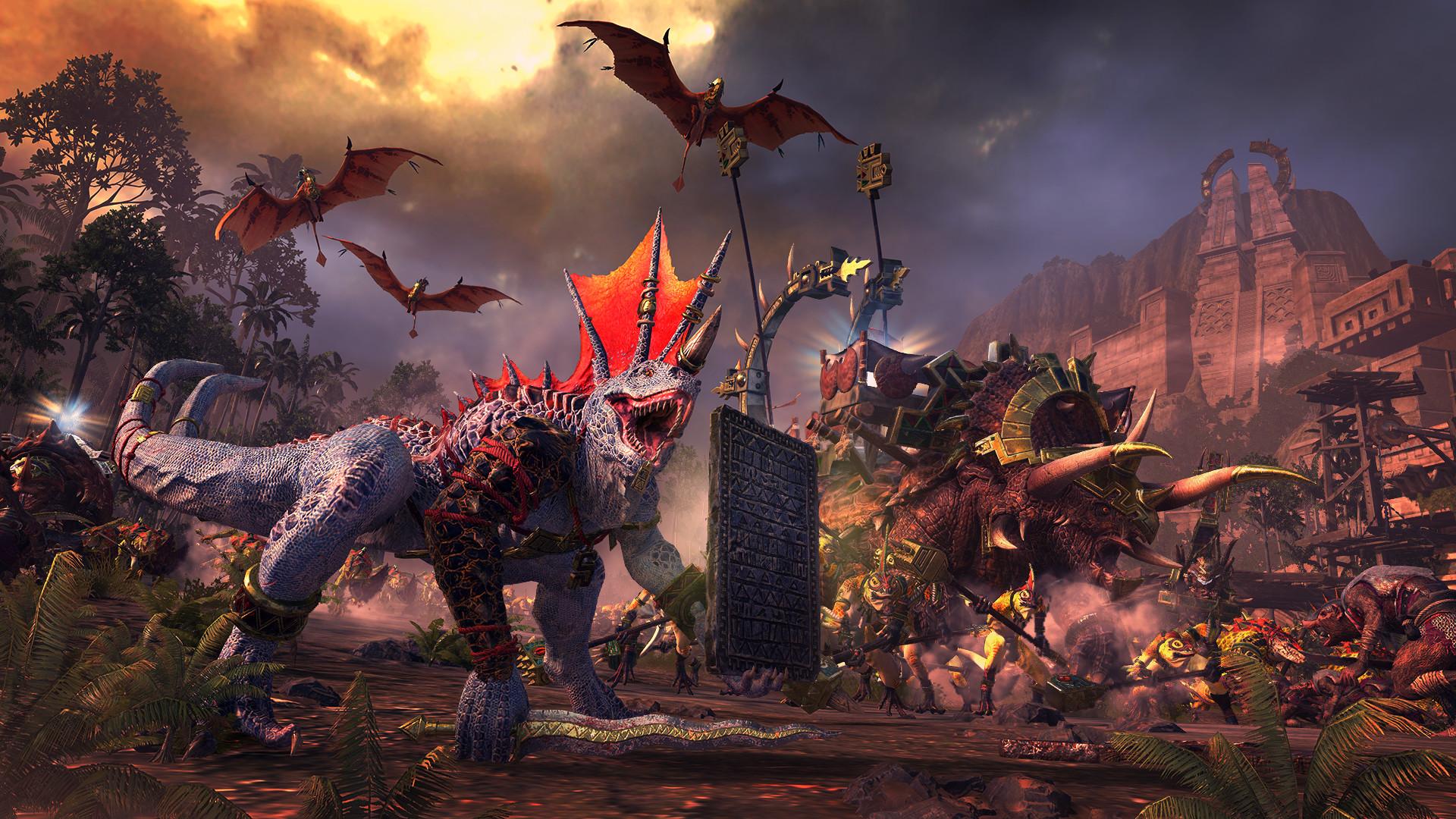 《全面战争:战锤2》新DLC已发售 鼠人大战蜥蜴人