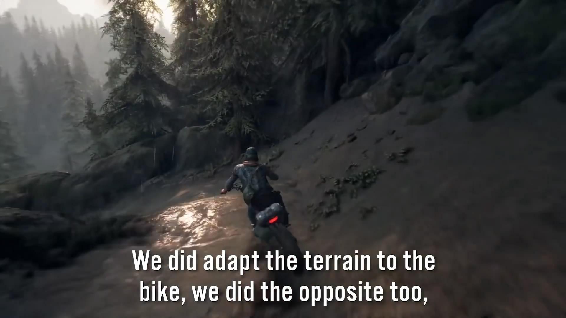 《往日不再》开放世界探索预告片 机车是玩家最好朋友