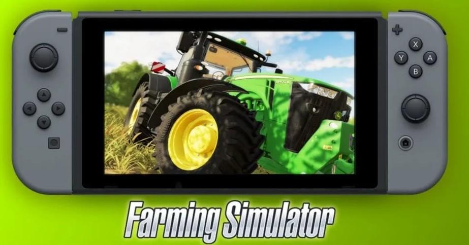 《模拟农场19》登陆Switch平台 会完全超越上部NS作品