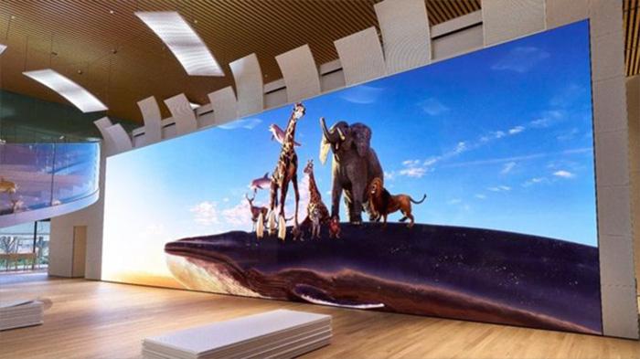 8K就是个弟弟 索尼研发16K大屏幕:783英寸 Crystal LED技术