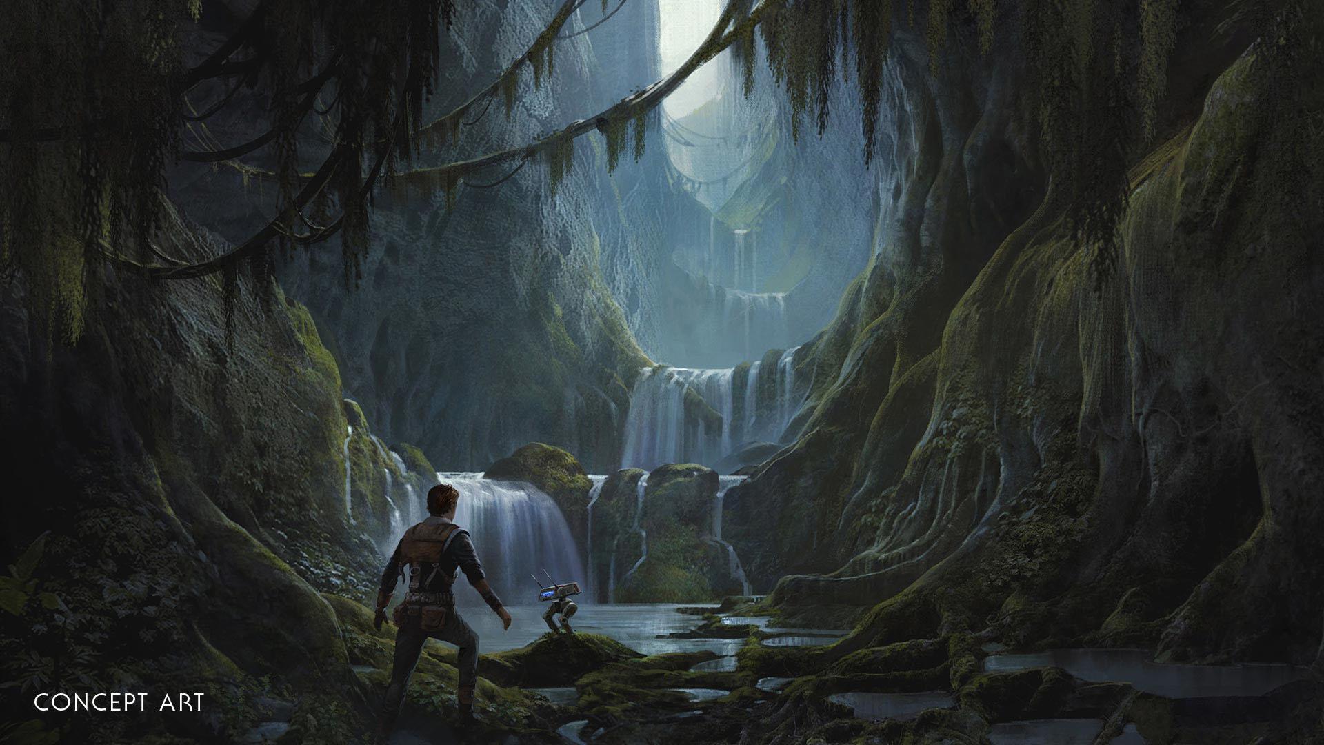 《星球大战绝地:陨落的武士团》既非线性也非开放世界