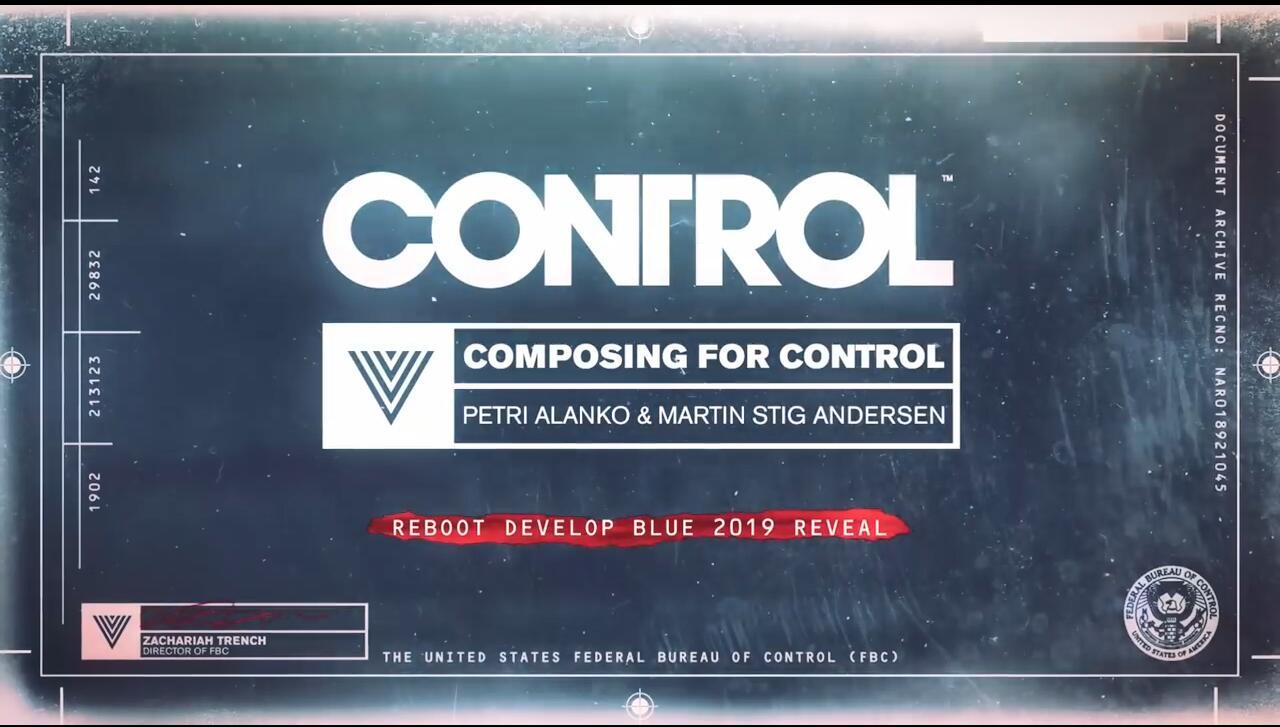 《控制》配乐由两位老面孔合作 曾负责《德军总部2》