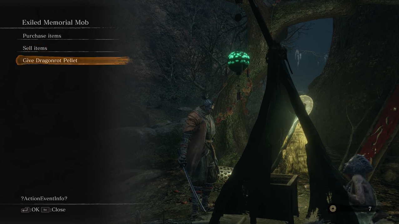 《只狼》龙咳治愈设定被挖出 会触发特殊的NPC对话