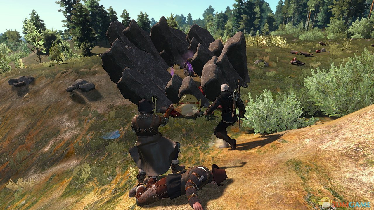 《巫师3:狂猎》更多的法术MOD