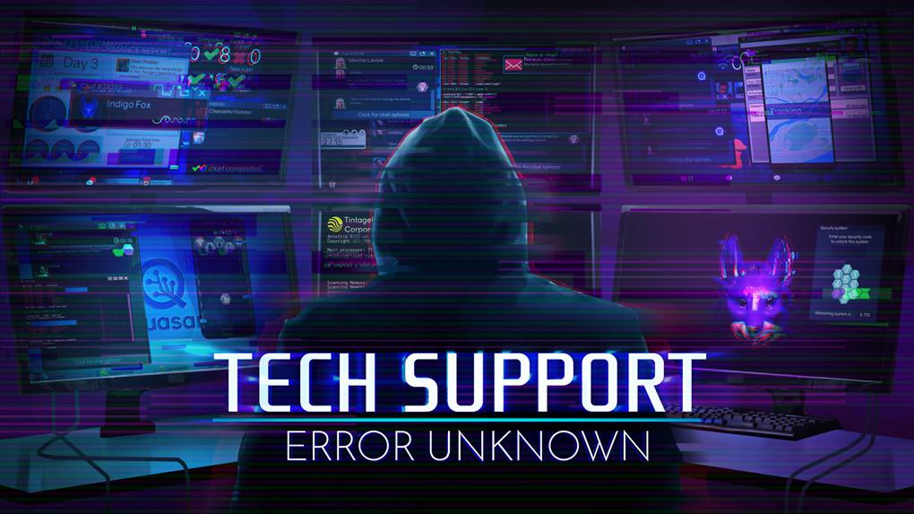 《技术支持:未知错误》简体中文免安装版