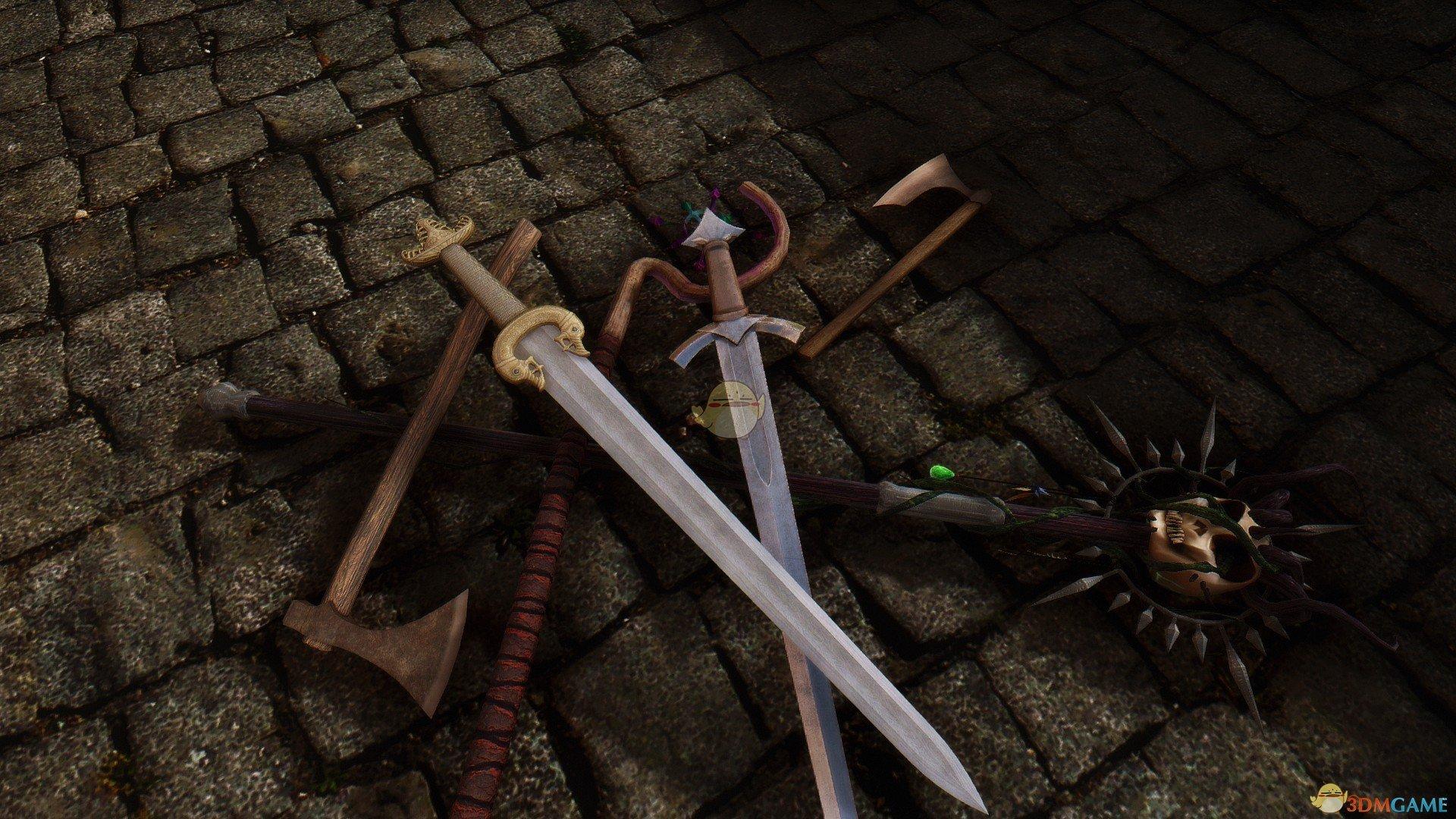 《上古卷轴5:天际》替换原版武器MOD