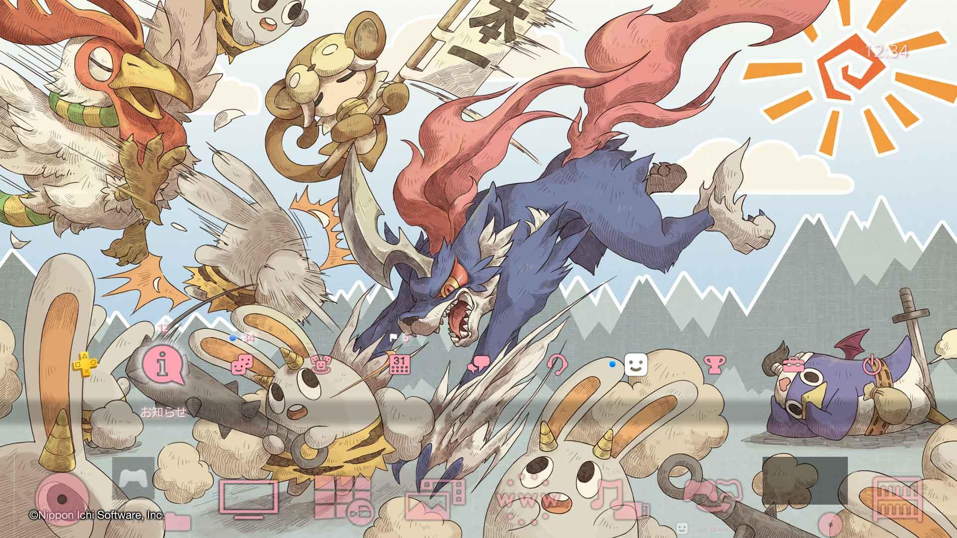 日本一:《魔界战记》普利尼PS4主题和头像免费提供